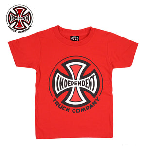 Independent Truck Company kids S/S Tee Red
