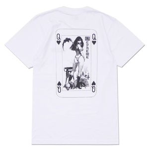 Supreme Vampirella Card Tee White