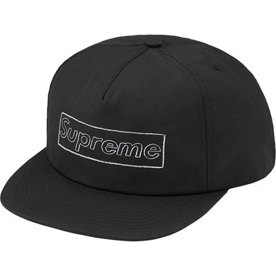 Supreme Kaws Logo 5-Panel Black