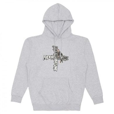 Fucking Awesome Hobo hoodie Grey