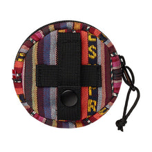 Supreme Woven Stripe Coin Pouch Multicolor