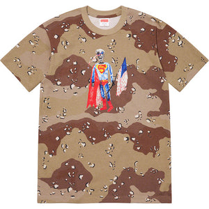 Supreme skeleton Tee Camo