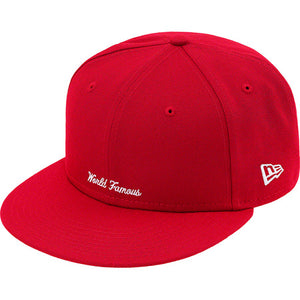 Supreme Reverse Box Logo New Era Red