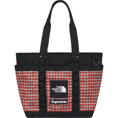 Supreme The North Face Studded Explore Utility Tote Red