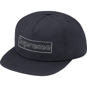 Supreme Kaws Logo 5-Panel Navy