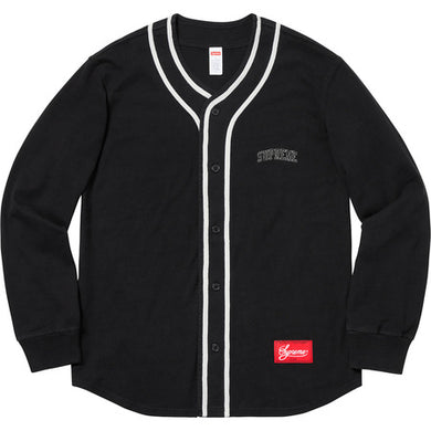 Supreme Color Blocked Baseball Top