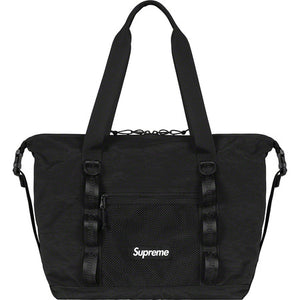 Supreme Zip Tote Black