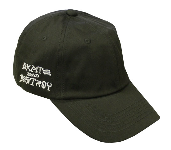 Thrasher Mag Skate and Destroy Sport Dad Cap Black