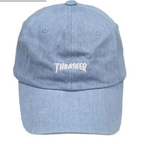 Thrasher Mag Sport Cap Light Denim