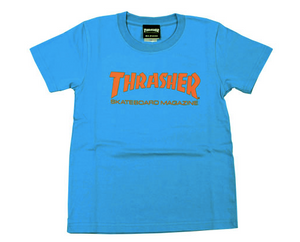 Thrasher Kids Mag Logo S/S Tee Turquoise/Orange