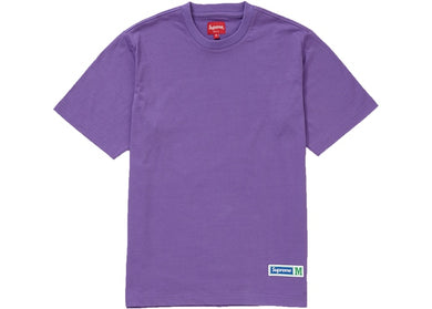 Athletic Label Tee (Purple)