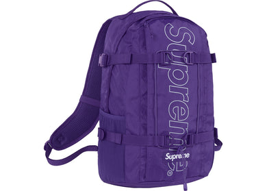 Supreme Backpack Purple (FW18)