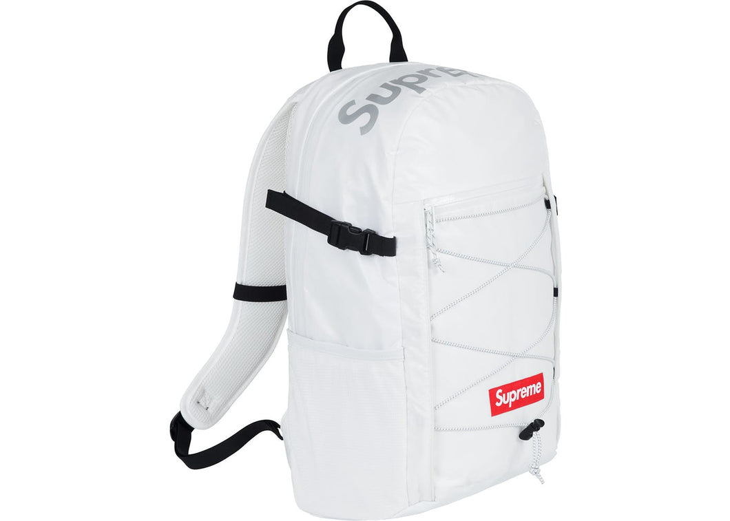 Supreme FW17 Backpack White