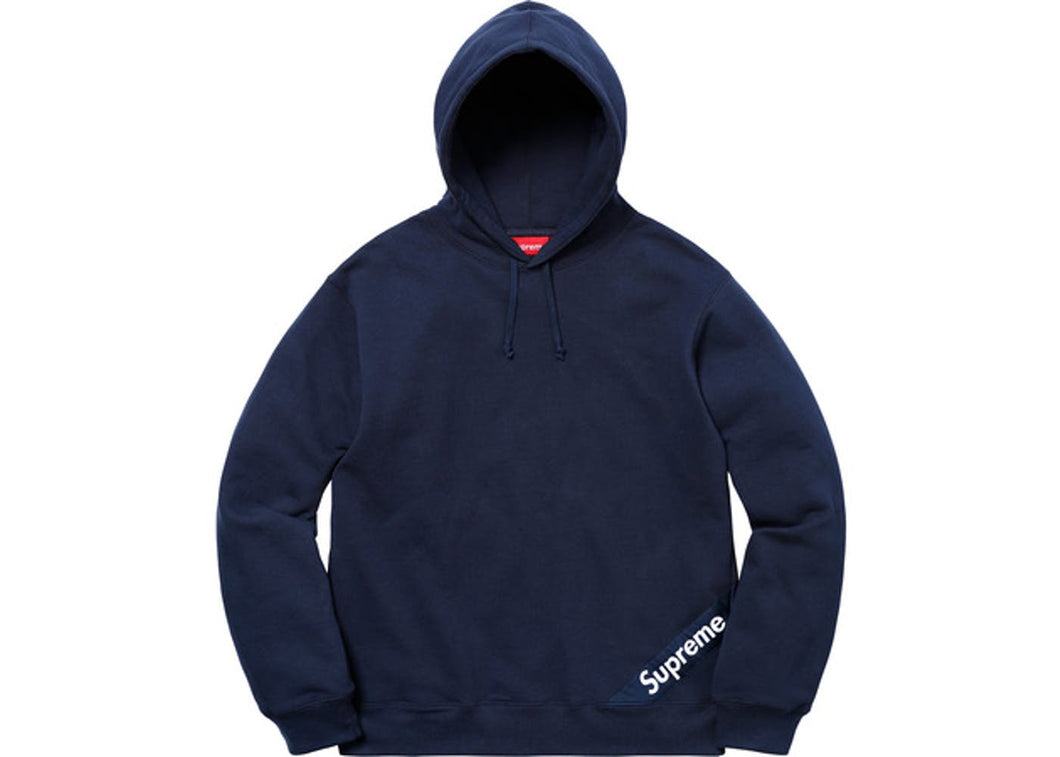 Supreme corner label hooded sweatshirt