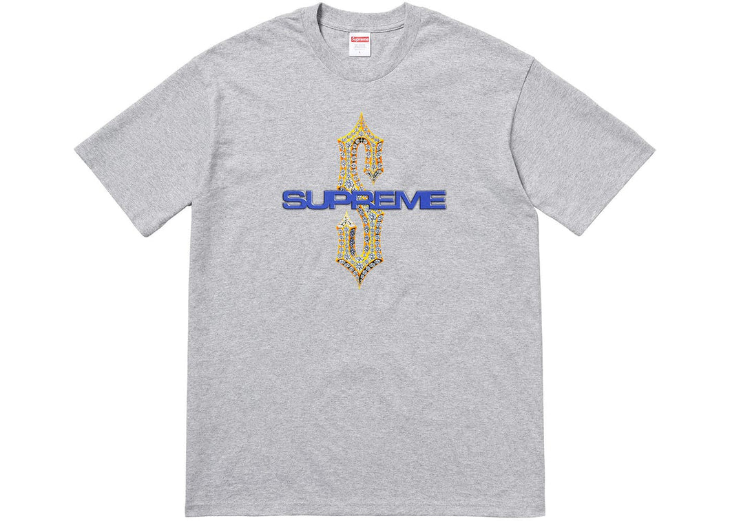 Supreme Diamonds Tee Heather Grey