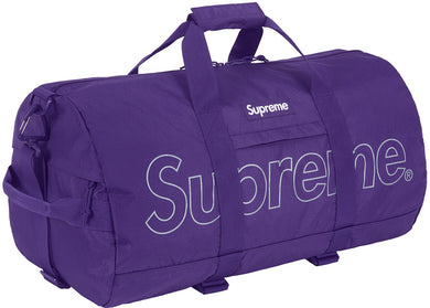 Supreme Duffle Bag Purple (FW18)
