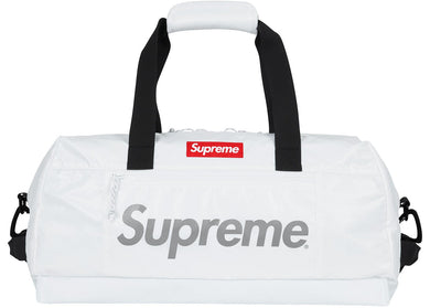 Supreme Duffle Bag White FW 17