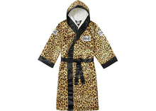 Supreme Everlast Satin Hooded Boxing Robe Leopard