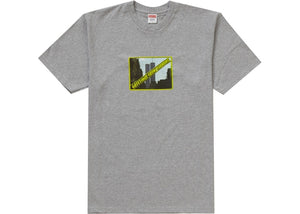Supreme Greetings Tee Grey