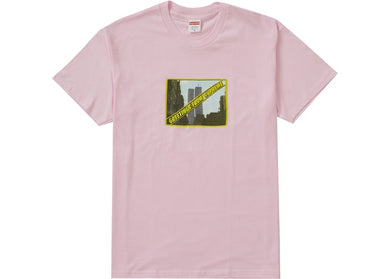 Supreme Greetings Tee Pink