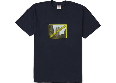 Supreme Greetings Tee Navy