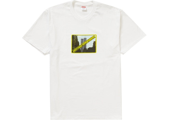 Supreme Greetings Tee White