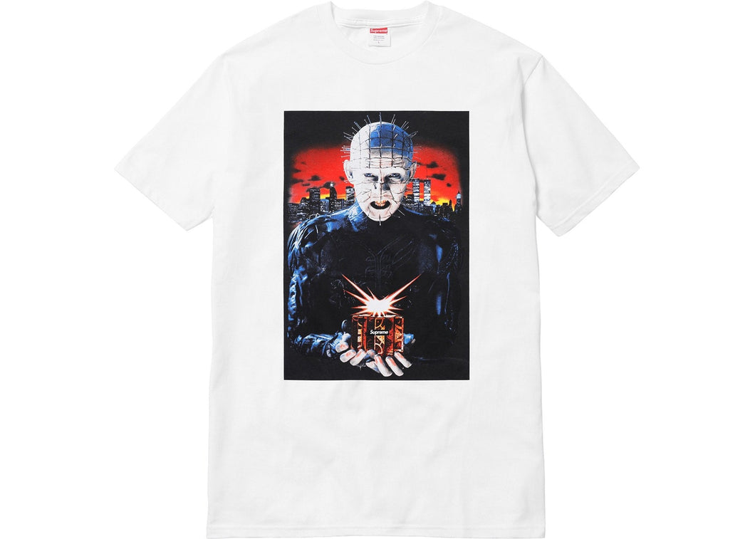 Supreme Hellraiser Hell on Earth Tee White