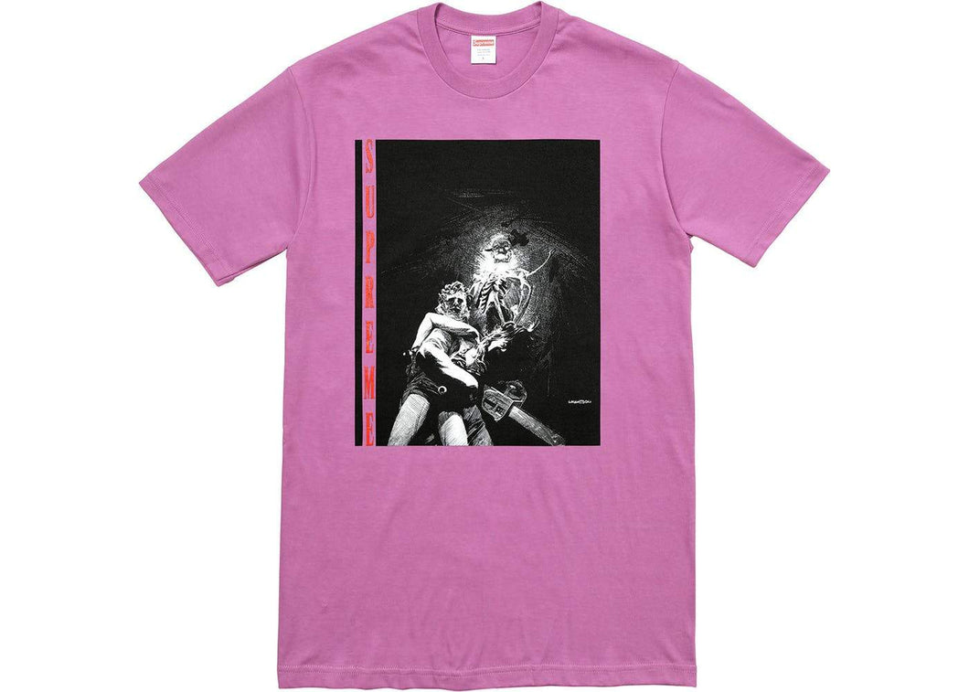 Supreme Chainsaw Tee Purple