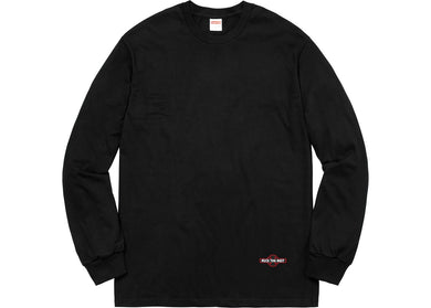 Supreme Independent Fuck The Rest L/S Tee Black