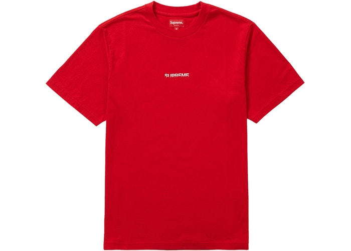 Supreme Internationale S/S Top Red