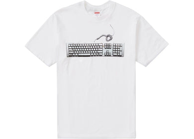 Supreme Keyboard Tee White