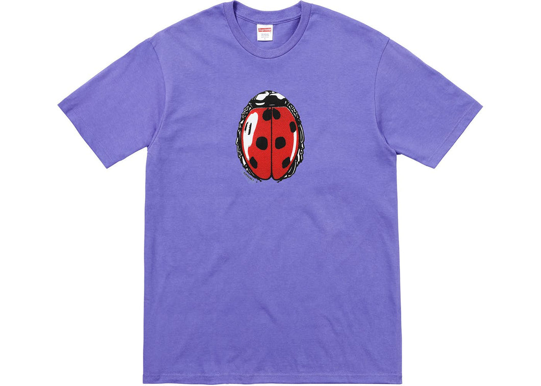 Supreme Ladybug Tee Light Purple