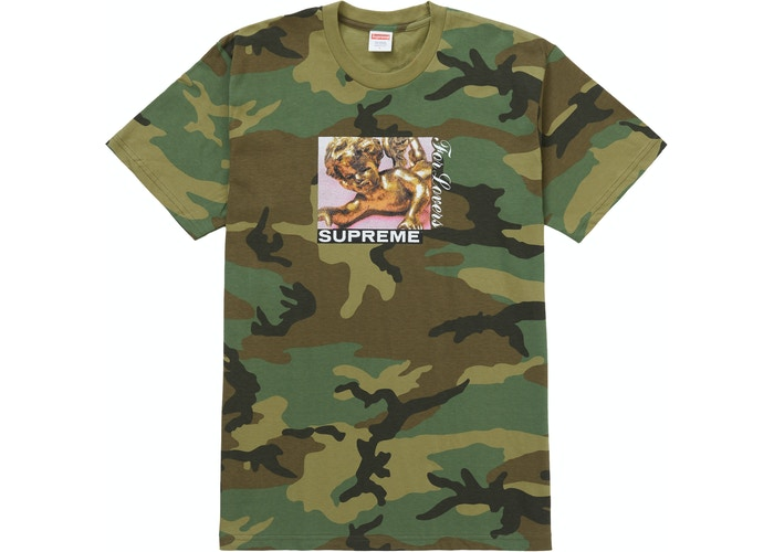 Supreme Lovers Tee Ash Camo