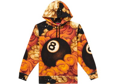 Supreme Martin Wong 8 Ball Hooded Sweatshirt Multi