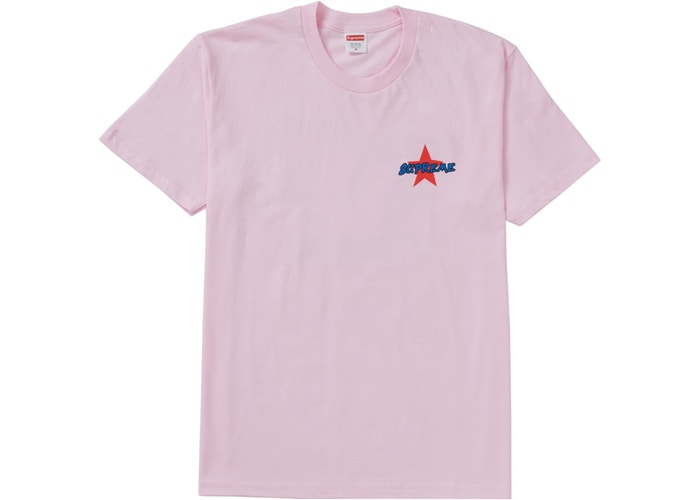 Supreme Money Power Respect Tee Pink