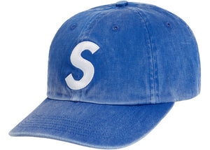 Supreme Pigment Print S Logo 6-Panel Royal