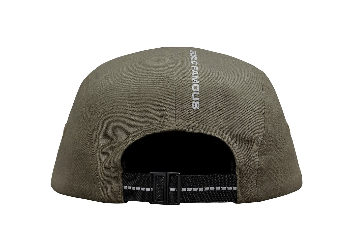 3d6d0b5393f Supreme Reflective Tab Pocket Camp Cap Olive – BASEMENT HK