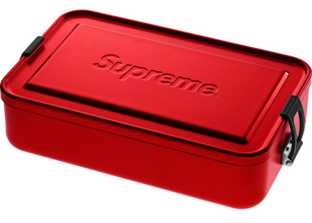 Supreme SIGG Large Metal Box Plus Red
