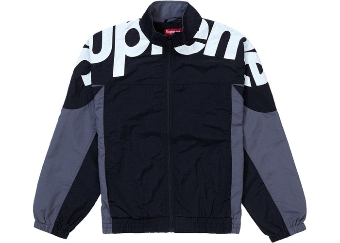 Supreme Shoulder Logo Track Jacket Black