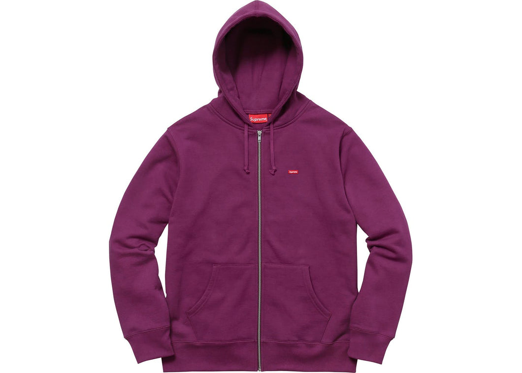 Supreme Small Box Logo Zip Up Hooded