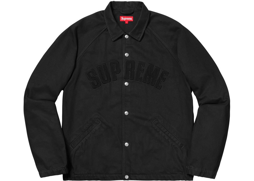 Supreme Snap Front Twill Jacket