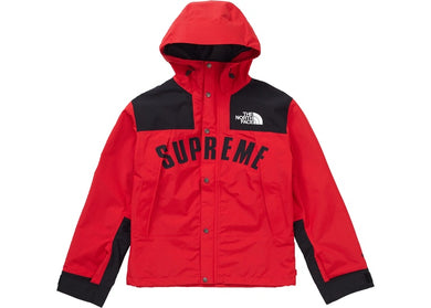 Supreme The North Face Arc Logo Mountain Parka (Red)