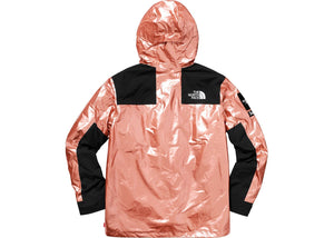 Supreme The North Face Metallic Mountain Parka Rose Gold