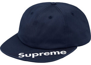 Supreme Visor Label 6-Panel Navy