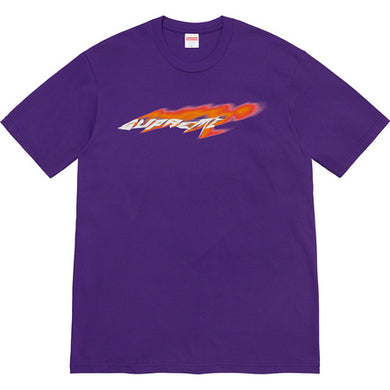 Supreme Wind Tee Purple