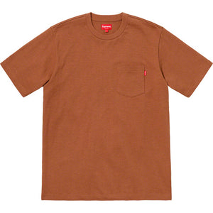 Pocket Tee (Rust)