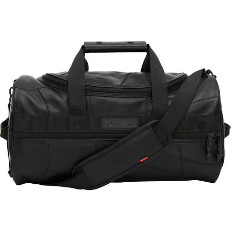 Supreme Patchwork Leather Duffle Bag Black