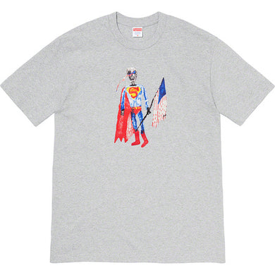 Supreme skeleton Tee grey