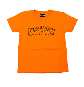Thrasher Kids Mag Outline S/S Tee Orange