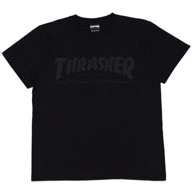 Thrasher Kids Foaming Logo S/S Tee Black